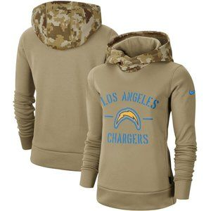 Women's Los Angeles Chargers Pullover Hoodie